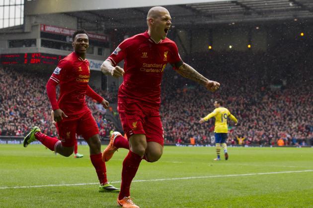 Liverpool's Martin Skrtel Reportedly a Shock Transfer Target of Manchester City