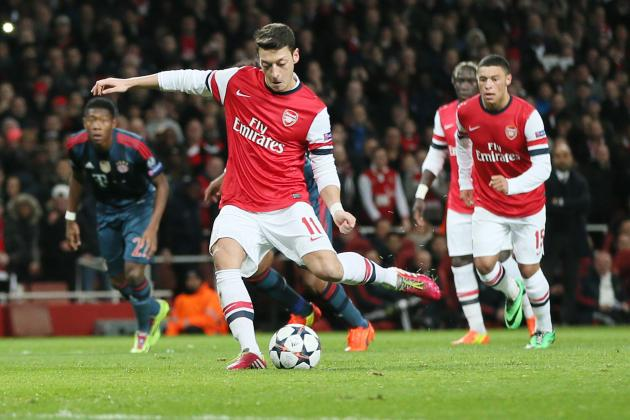 Mesut Ozil Injury: Updates on Arsenal Star's Thigh and Return