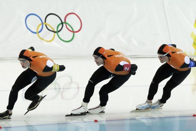 Olympic Speedskating Results 2014: Men's and Women's Team Pursuit Medal Winners
