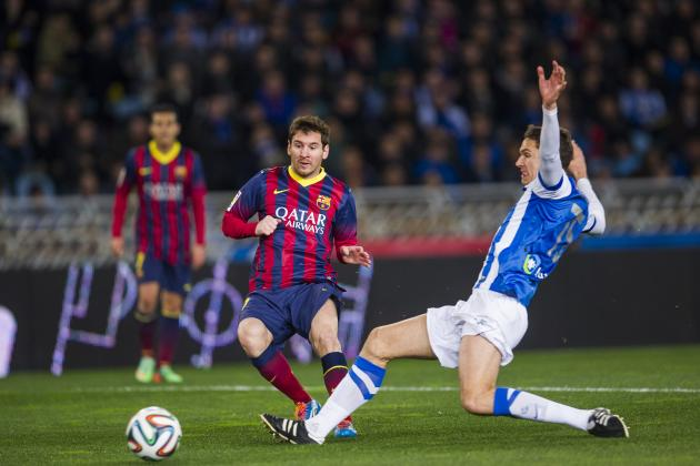 Real Sociedad vs. Barcelona: La Liga Live Score, Highlights, Report