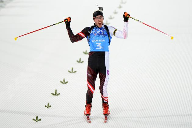 Biathlon Medal Results and Times from Olympic 2014 Men's 4x7.5km Relay