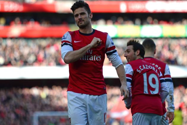 Analysing Olivier Giroud's Performance vs. Sunderland