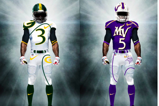 NFL Jerseys Redesigned by Mr. Design Junkie