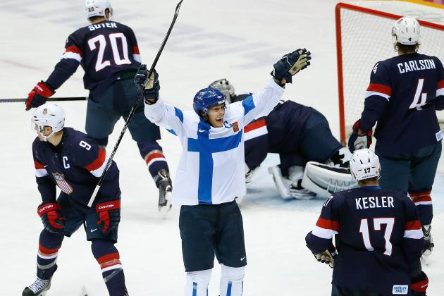 Team USA vs. Finland Olympic Hockey 2014: Final Grades, Analysis for Team USA