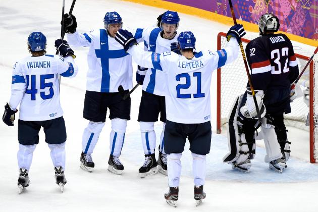 USA vs Finland Olympic Hockey 2014: Live Score, Highlights for Bronze-Medal Game