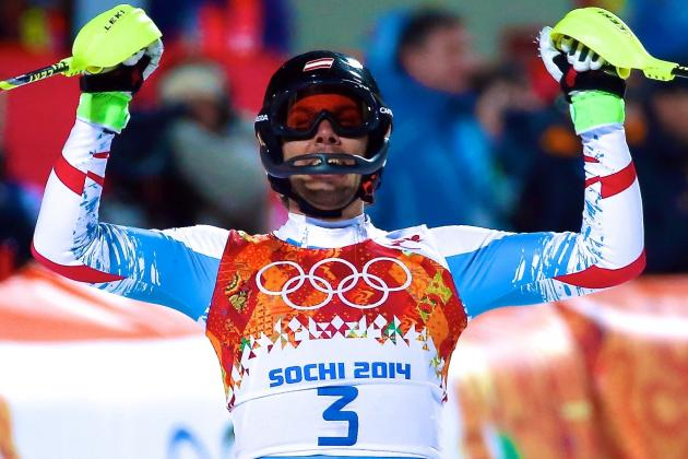 Olympic Alpine Skiing 2014: Live Results and Highlights of Men's Slalom