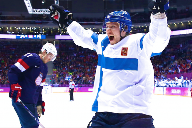 USA vs. Finland Bronze-Medal Game: Score and Recap from 2014 Winter Olympics
