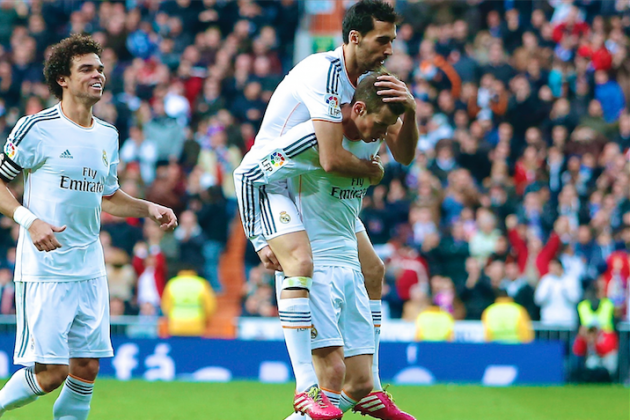 GIF: Gareth Bale Scores Long-Range Golazo for Real Madrid