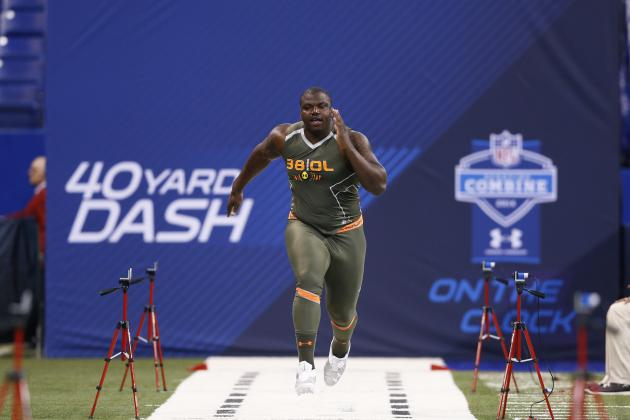 Greg Robinson: Combine Results and Instant Reaction