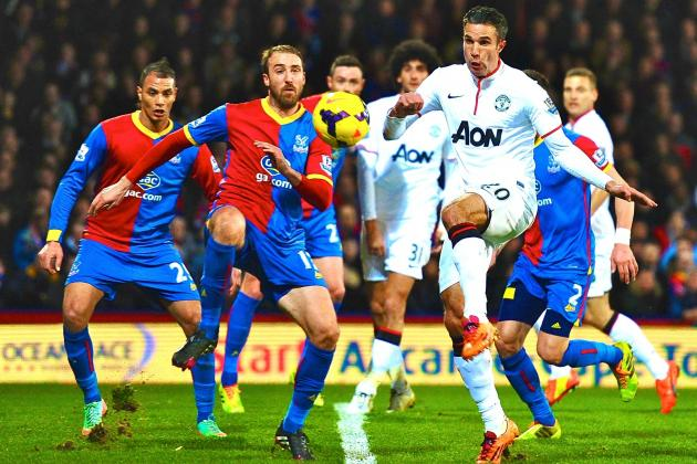 Crystal Palace vs. Manchester Utd: Premier League Live Score, Highlights, Report