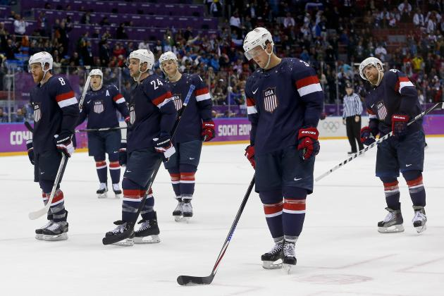 USA vs. Finland Olympic Hockey 2014: Analyzing United States' Blowout Loss