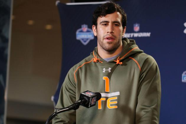 Jace Amaro: Scouting Combine Results and Instant Reaction