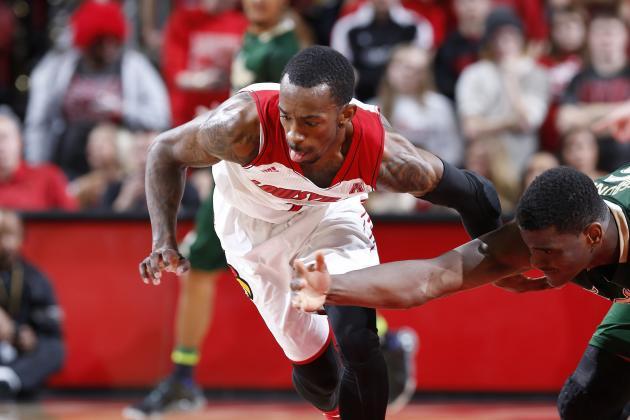 Louisville Wins Wild Game Thanks to Russ Smith Heroics over Cincinnati