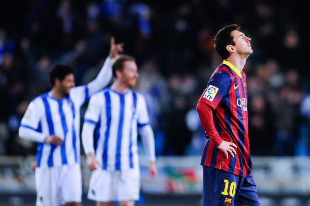 Real Sociedad vs. Barcelona: La Liga Score, Grades and Post-Match Reaction