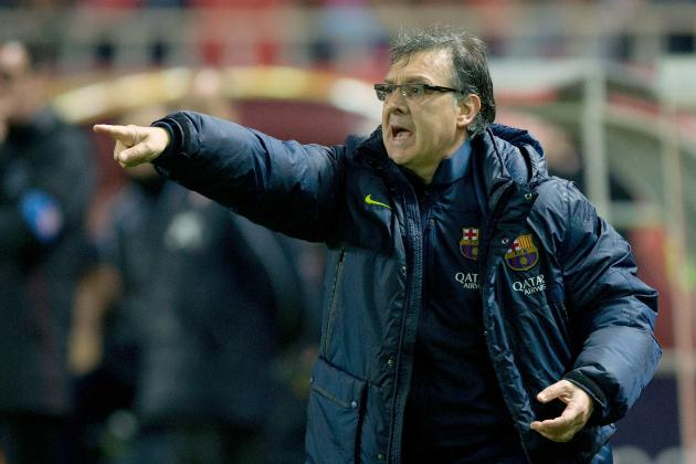 Tata Martino Ejected at Halftime of Real Sociedad vs. Barcelona
