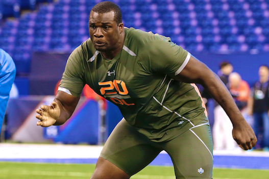 Alabama Tackle Cyrus Kouandjio Severely Disappoints on Combine's 3rd Day