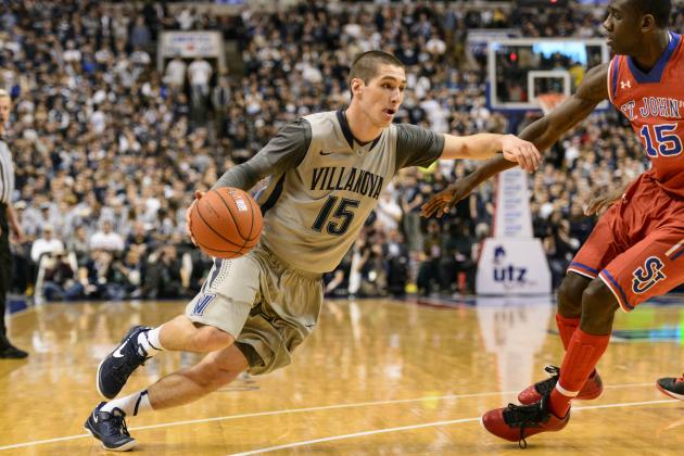 No. 9 Villanova Survives St. John's 57-54