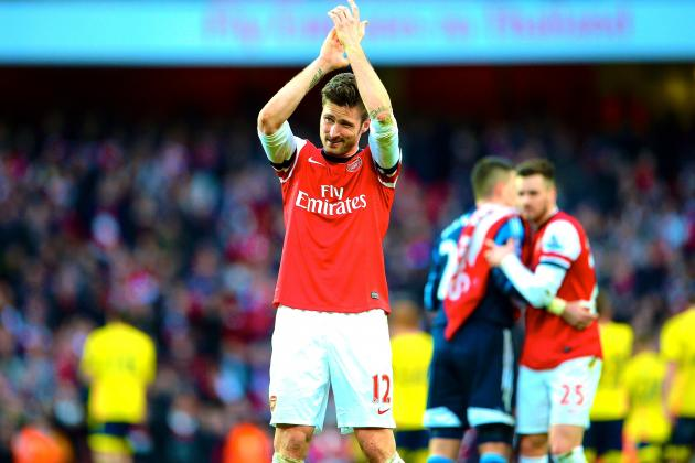 Arsenal vs. Sunderland: Olivier Giroud Makes Amends in Style