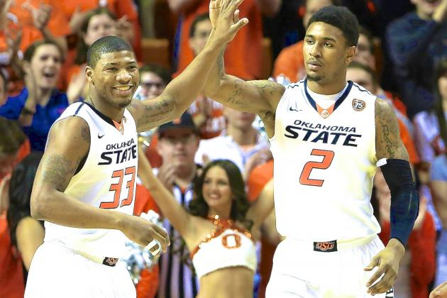 Marcus Smart Registers 16 Points, 10 Assists in Return to Oklahoma State Lineup