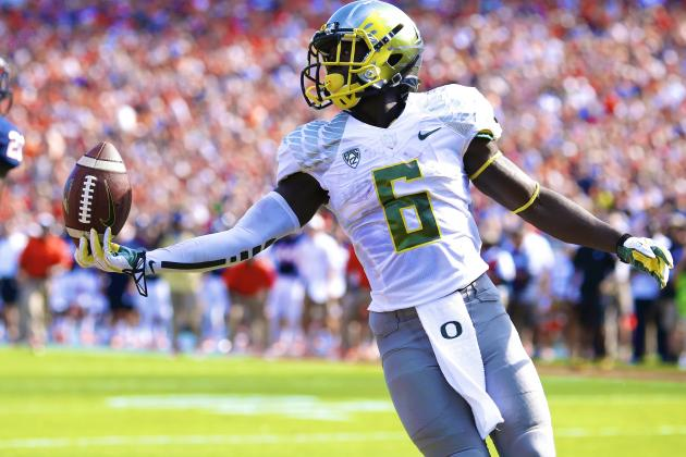 Oregon's De'Anthony Thomas Is a Huge NFL Draft Talent in a Small 5'8
