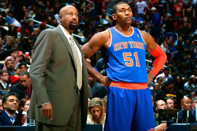 Metta World Peace and Beno Udrih Agree to Buyouts with Knicks