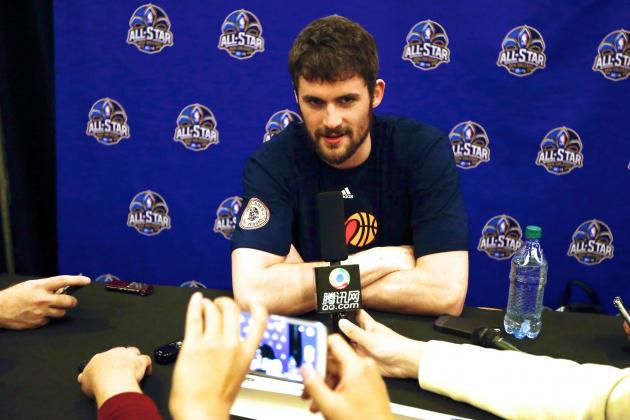 This Kevin Love Trade Rumor Spat Is Getting Weird