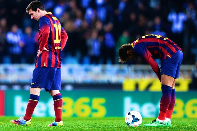 Tata Martino's Rotational Policy Catches Up to Barcelona in Loss at Anoeta