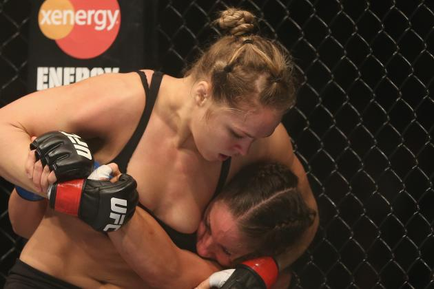 UFC 170 Notebook: Behind the Scenes of Ronda Rousey vs. Sara McMann Fight Card