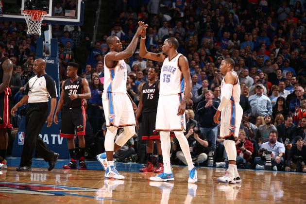 Oklahoma City Thunder Go 8 Straight Games Without Allowing 20-Point Scorer