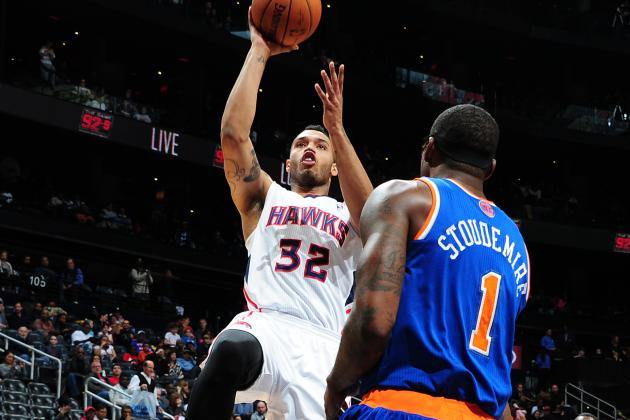 Scott Scores Career-High 30 as Hawks Beat Knicks