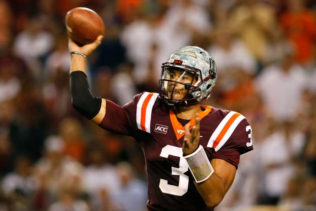 Logan Thomas NFL Draft 2014: Highlights, Scouting Report for Cardinals QB