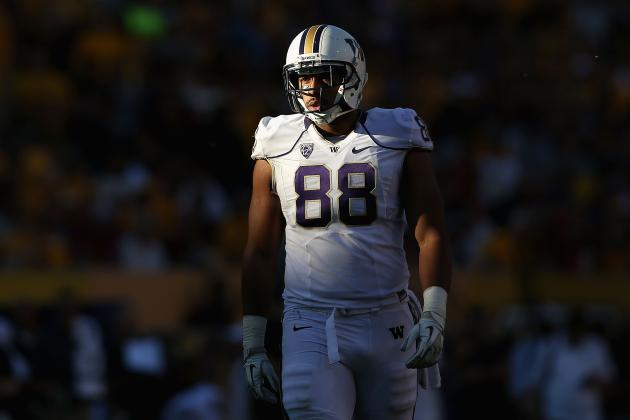 Austin Seferian-Jenkins Injury: Updates on Washington TE's Foot and Return