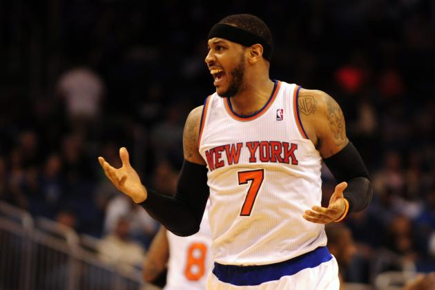 Carmelo Anthony Is Indifferent to NY Knicks' Trade Deadline Inaction