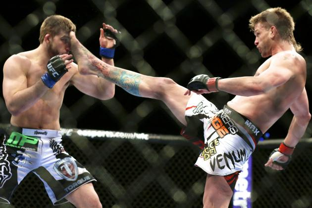 UFC 170: What We Learned from Mike Pyle vs. T.J. Waldburger