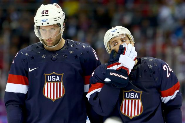 US Olympic Hockey Team 2014: Players Who Must Bounce Back from Sochi Letdown
