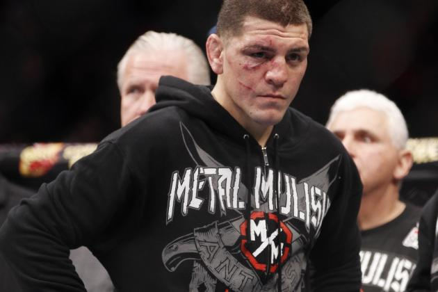 Nick Diaz Holding out for Title Shot, Dana White Won't Give Him 1