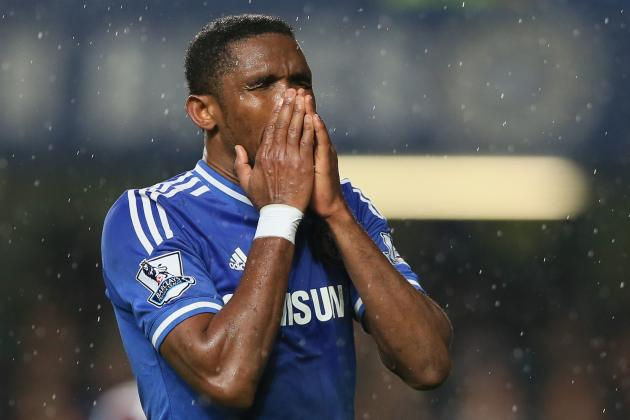 Samuel Eto'o Responds to Rumours He Wants to Leave Chelsea