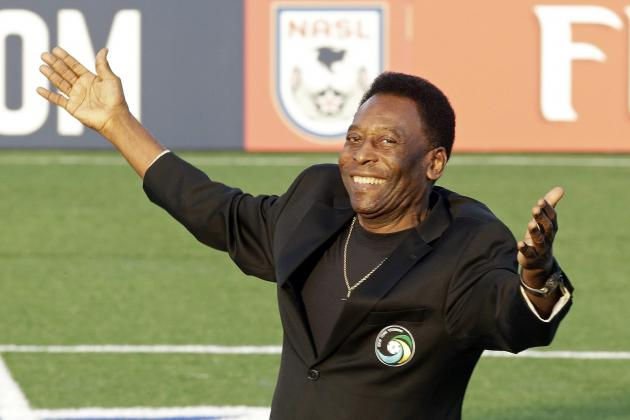 FIFA 14 Ultimate Team: EA Sports' Pele Image Shows Brazilian Legend in Hot Tub