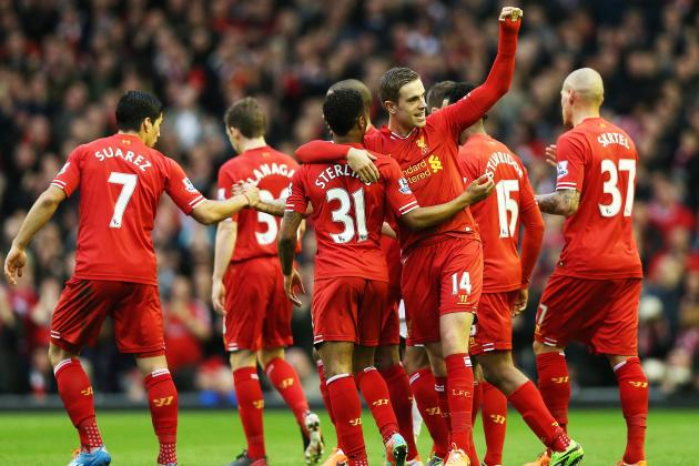 Liverpool vs. Swansea: Premier League Live Score, Highlights, Report