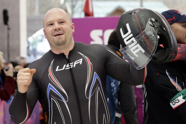 Steven Holcomb and USA Bobsled Salvage Disappointing Final Weekend in Sochi