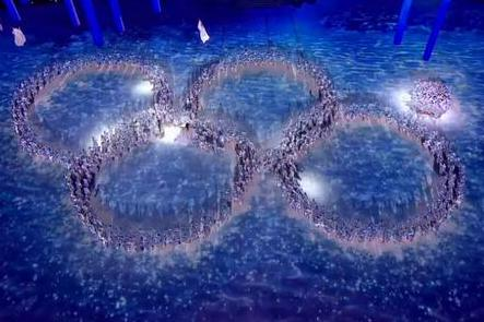 Russia Pokes Fun at Olympic Ring Fail During Closing Ceremony