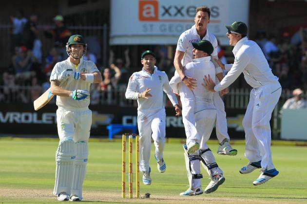 South Africa vs. Australia, 2nd Test, Day 4: Video Highlights, Scorecard, Report