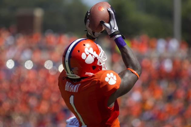 Martavis Bryant Breaks out of Sammy Watkins' Shadow with Blazing 40 at Combine