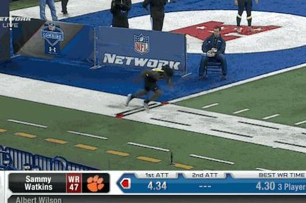 Watch Sammy Watkins Run 40-Yard Dash at NFL Scouting Combine