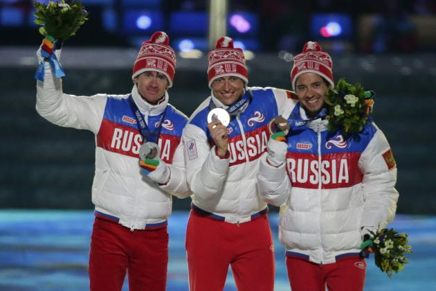 Olympic 2014 Results: Final Medal Count for Each Nation from Sochi