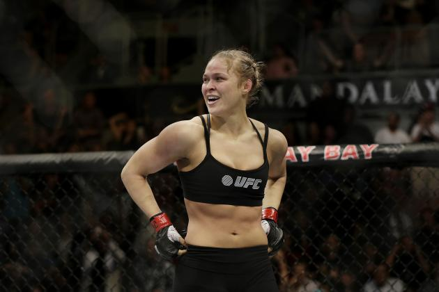 Ronda Rousey Shows She Belongs in P4P Rankings Amongst Male Counterparts