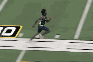Dri Archer Zooms Through 40-Yard Dash at NFL Combine