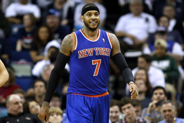Would Carmelo Leaving Knicks Send James Dolan Message He Desperately Needs?