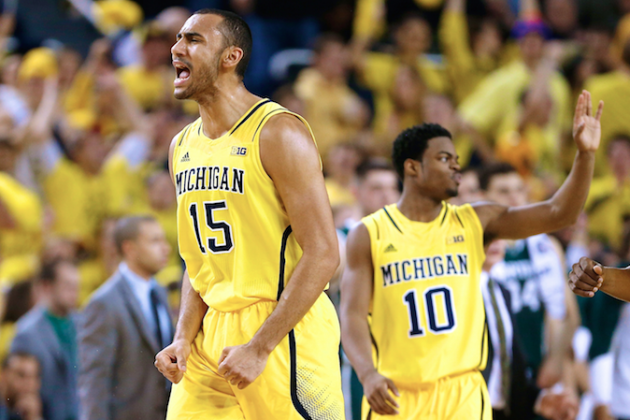 Michigan in B1G Driver's Seat After Sweeping Season Series with Michigan State