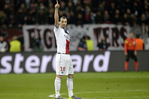 Ligue 1: Week 26, Ibrahimovic and Berbatov Watch: Zlatan Treble Downs Toulouse